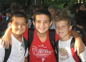 Middle School - Group of Boys
